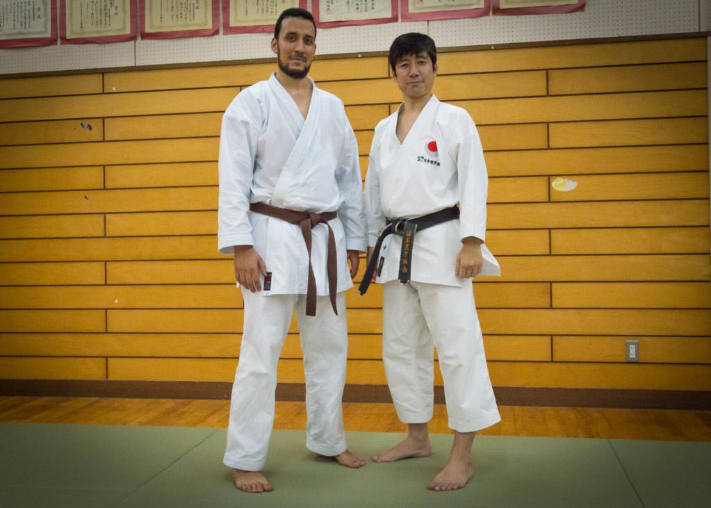 Avec Naka Tatsuya sensei